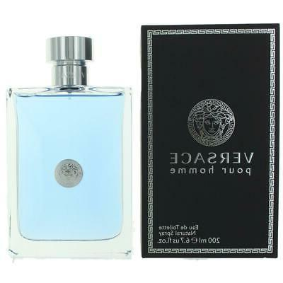 Versace Pour Homme by Versace, 6.7 oz EDT Spray for Men