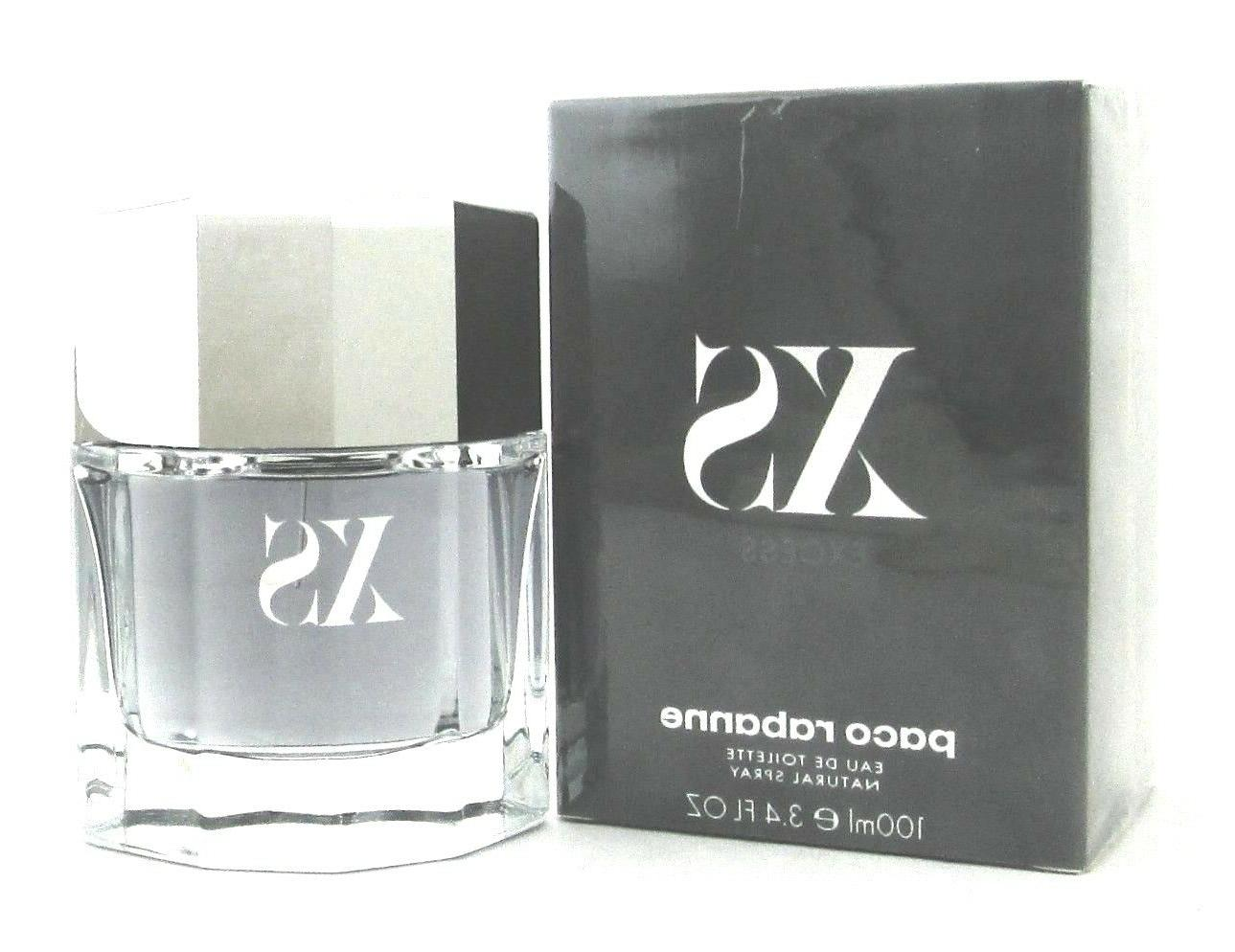 XS Excess Cologne  by Paco Rabanne 3.4 oz. EDT Spray for Men