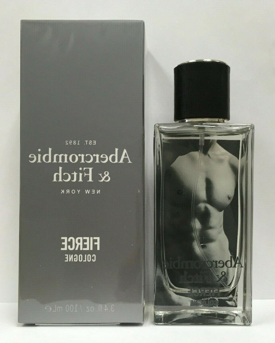 abercrombie and fitch fierce 3 4oz 100ml