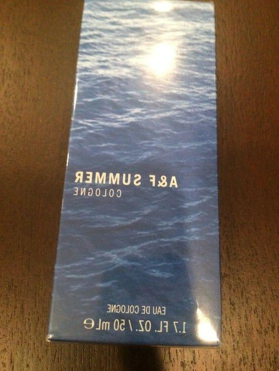 Abercrombie & Fitch Men's Summer Cologne 1.7 oz 50 mL - New