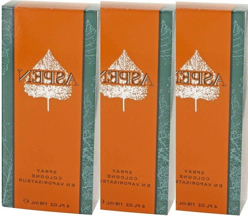 ASPEN oz x 3pcs Cologne Perfume Spray NEW