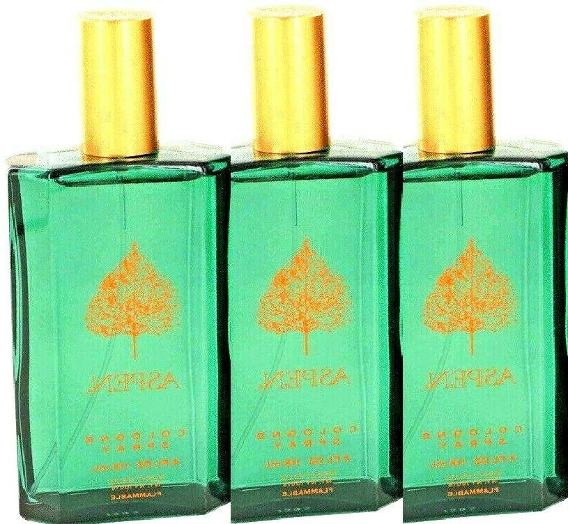 aspen by 4 oz x 3pcs cologne