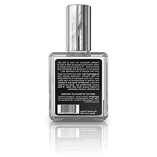 Healthy Men's Pheromone Cologne Bold Scent Strength Pheromone with and Pheromones - in the