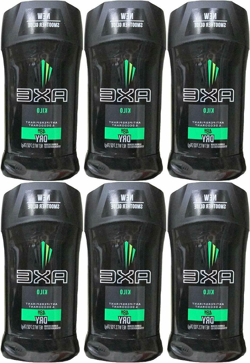 AXE M-BB-1217 Kilo Dry Action Anti Invisible Solid Perspiran