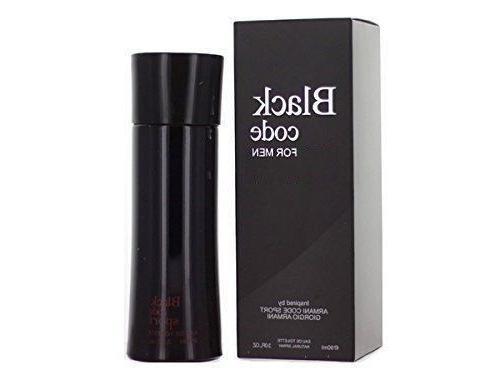 Black Code For Men Parfum Cologne Eau De Toilette NEW