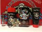 BORN WILD By ED HARDY Cologne Men 5PC Gift Set 3.4 OZ + 3.0+
