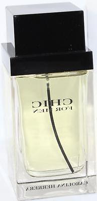 Chic By Carolina Herrera For Men. Eau De Toilette Spray 3.4