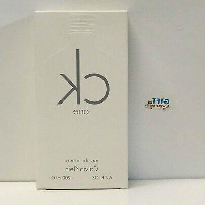 Calvin Klein Ck One Men's EDT Eau De Toilette Spray - P4159