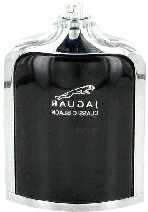 JAGUAR CLASSIC BLACK Cologne Perfume For Men 3.4 oz Tester E
