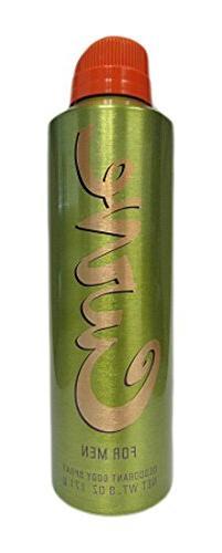 Curve by Liz Claiborne Deodorant Body Spray for Men, 6 oz