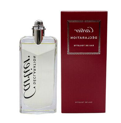 declaration by 3 4 oz edt cologne