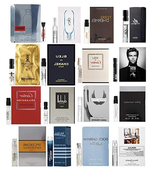 designer fragrance perfume samples vial cologne