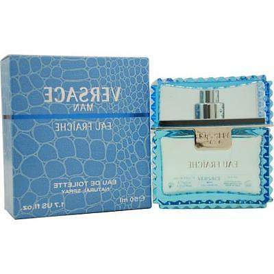 Versace Man Eau Fraiche Natural Spray, 1.7 fl oz