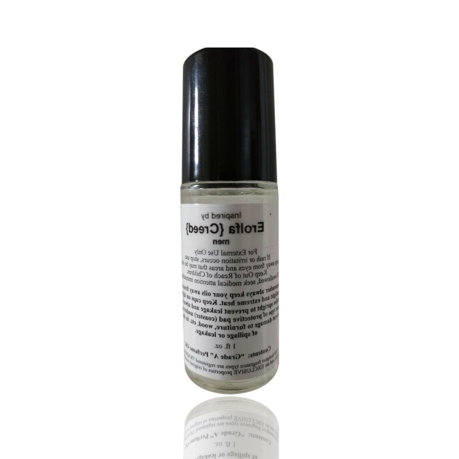 *Erolfa Type 1 oz Roll-on Cologne Men Fragrance Body Oil