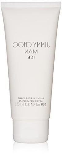 JIMMY CHOO Man Ice After Shave Balm, Citrus Aromatic Woody,