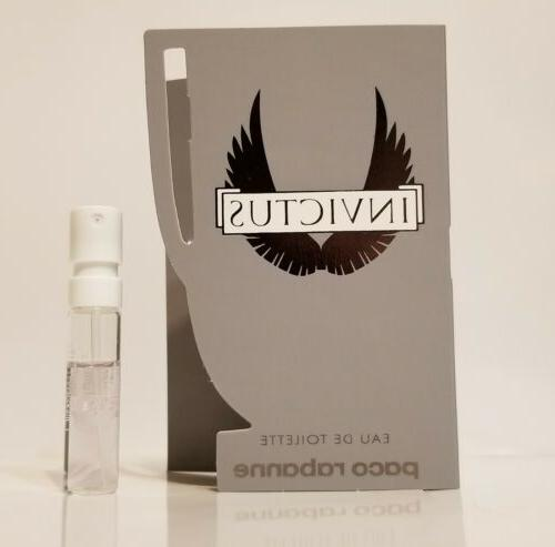 Invictus Paco EDT Cologne Samples