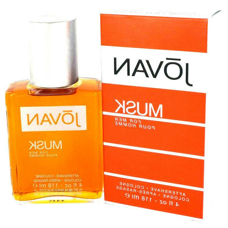 JOVAN MUSK x 4 oz By Jovan For Cologne NEW