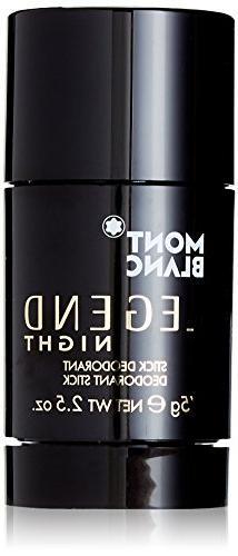 MONTBLANC Legend Night Deodorant Stick, 2.5 oz.