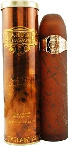 Cuba Magnum Gold By Cuba For Men, Eau De Toilette Spray, 4.3