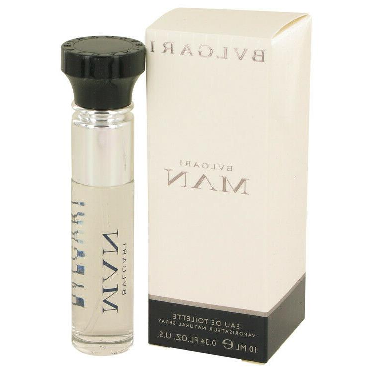 Bvlgari Man Cologne by Bvlgari, 0.33 oz Mini EDT Spray for W