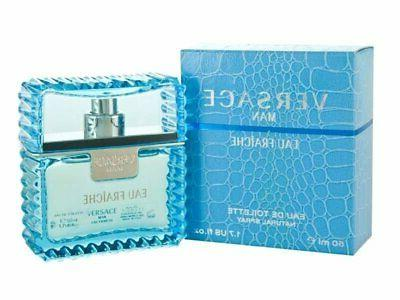 VERSACE MAN Eau Fraiche 1.7 oz EDT eau de toilette Men Spray