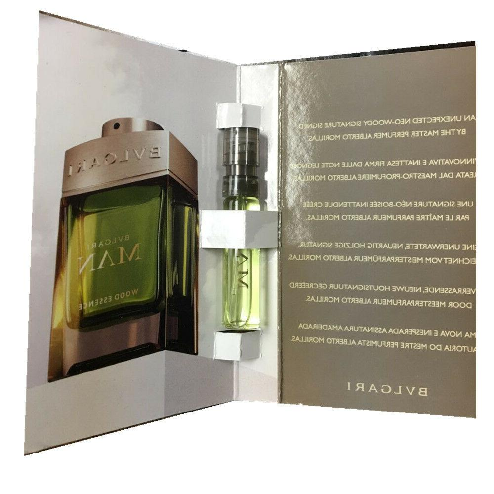 BVLGARI Man Wood Essence Eau de Parfum EDP Spray .05oz/1.5mL