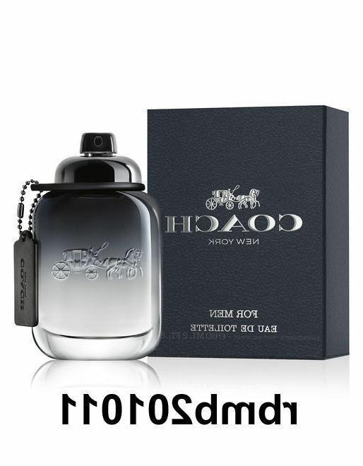 Coach New York Cologne for Men 3.3 oz / 100 ml EDT Spray New