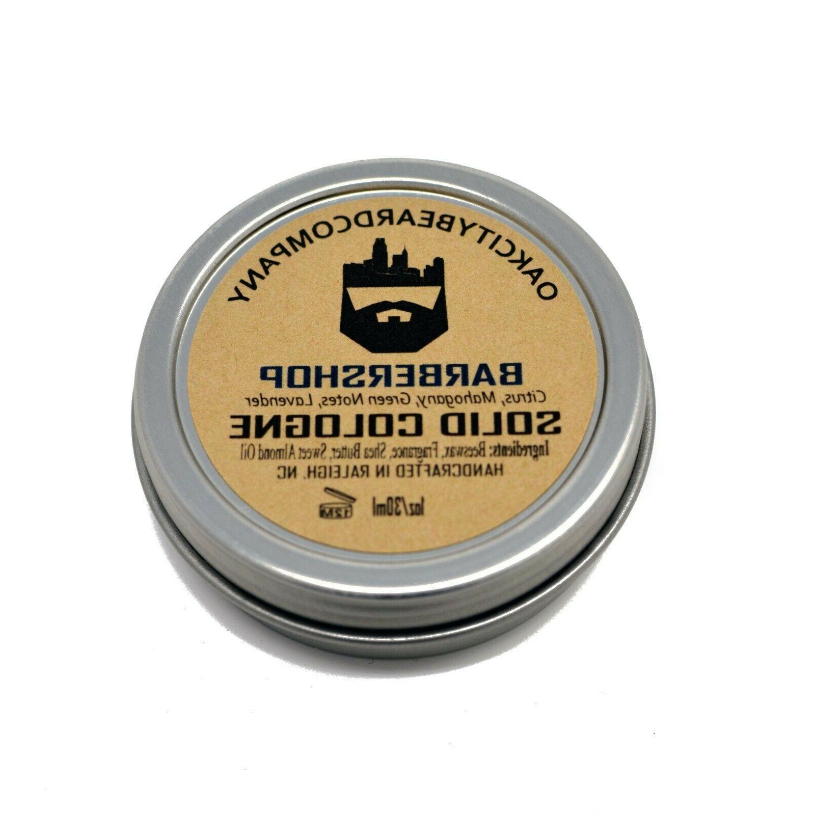 Oak Solid Cologne Natural Oils -