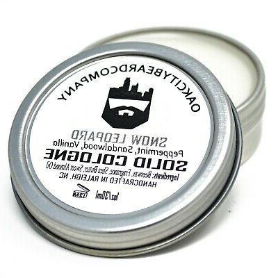 Oak City Beard Co.-  Solid Cologne - All Natural Oils - 1oz