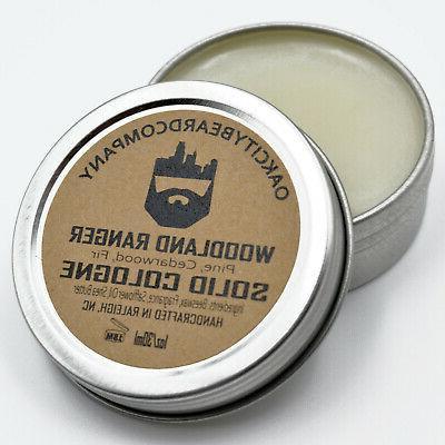 oak city beard co bullshark solid cologne