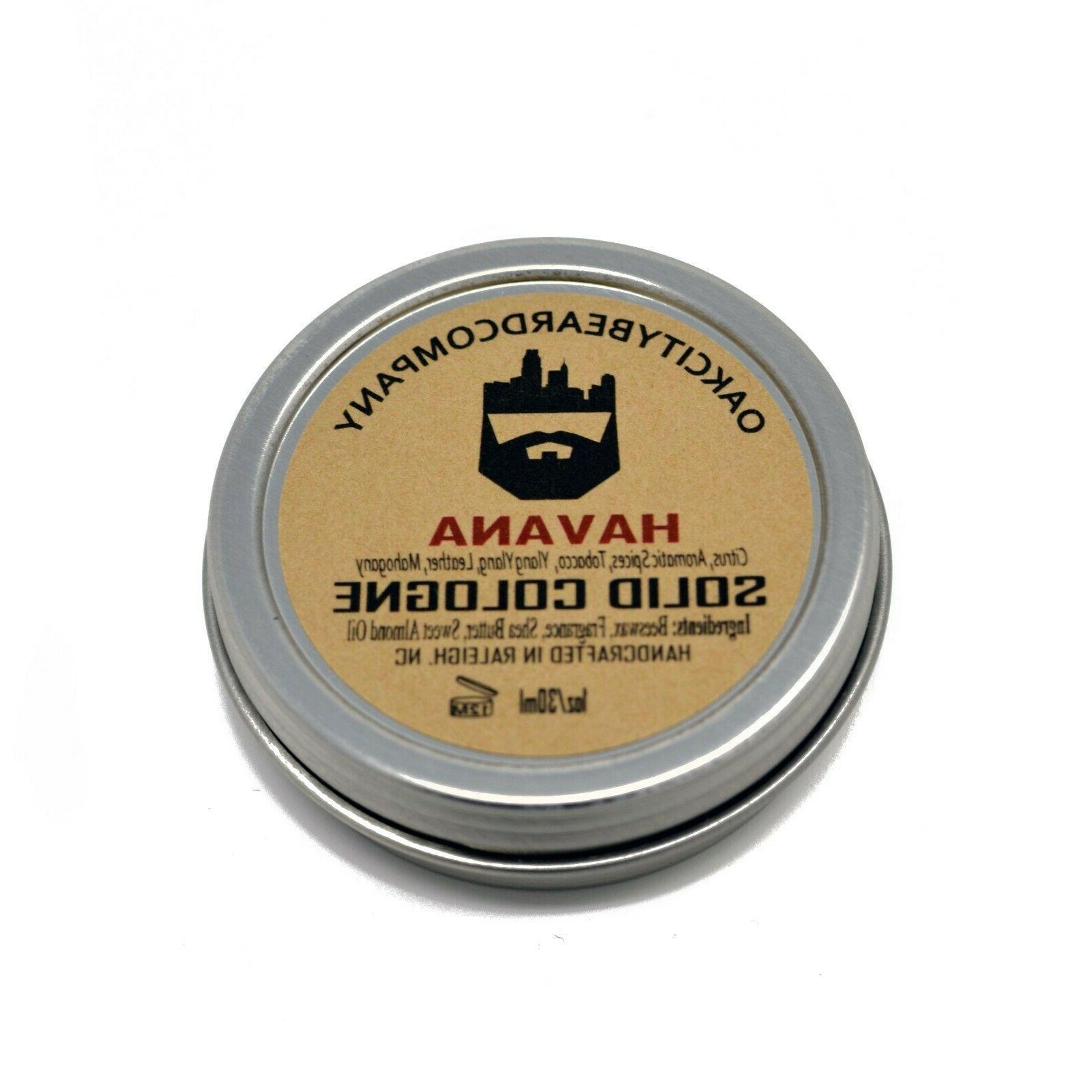 Oak Beard Solid Cologne Natural Oils - 1oz
