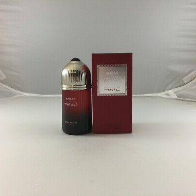 PASHA DE CARTIER EDITION NOIRE by Cartier EDT SPRAY 3.4 OZ