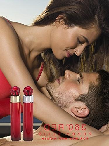 Perry Ellis 360 Red for Men Set