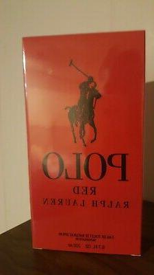 Polo Red Cologne by Ralph Lauren 6.7 oz EDT Spray for Men NE