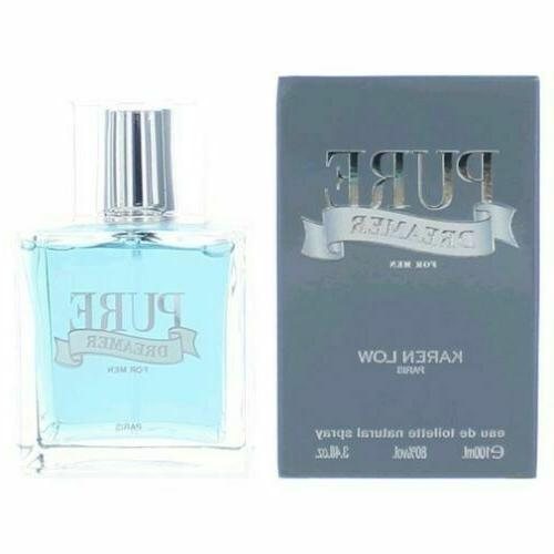 PURE DREAMER by Karen Low 3.3 / 3.4 oz edt Cologne Spray for