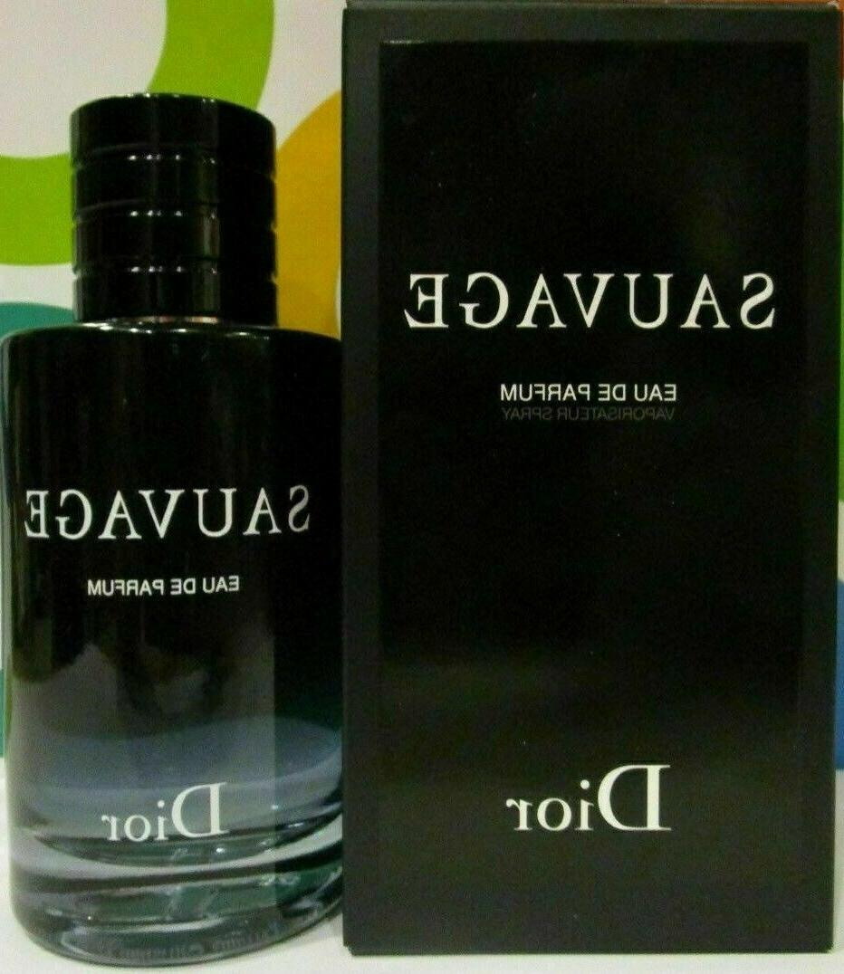 Sauvage Cologne By Christian Dior 3.4 oz / 100 ml. EDP Spray