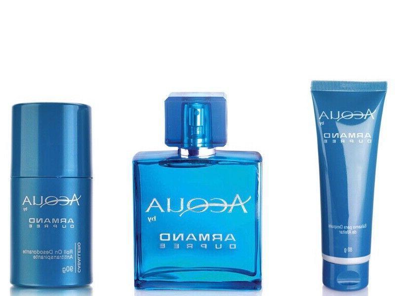 set of acqua by cologne deodorant