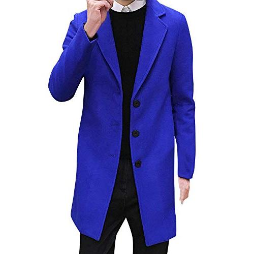 single breasted pea coat formal