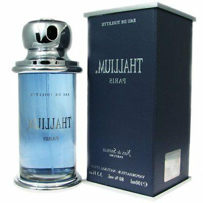 Thallium Yves De Sistelle 3.3 oz Cologne Men New In