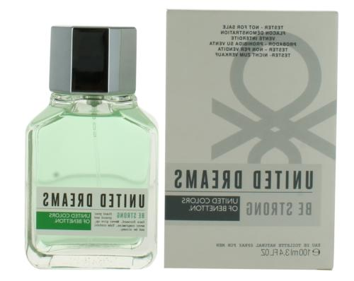 United Dreams Be Strong by Benetton For Men EDT Cologne Spra