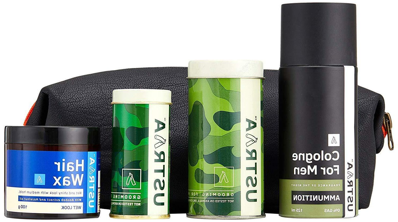 kit beard oil and wash hair wax