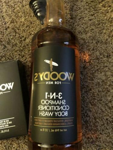 Woody's 3-in-1 & Body 32 fl oz. And Cologne