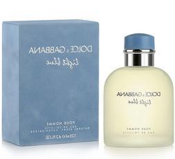 Light Blue by Dolce & Gabbana 4.2 oz EDT Cologne for Men New