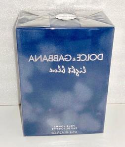 Light Blue Dolce & Gabbana Men 4.2 oz 125ml EDT Cologne Spra