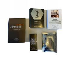 Lot Of Five  Men's High End Designer Cologne Fragrance Sam