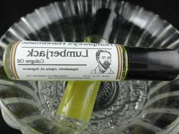 LUMBERJACK Men's Cologne Oil, Roll On Cologne, Cedarwood San