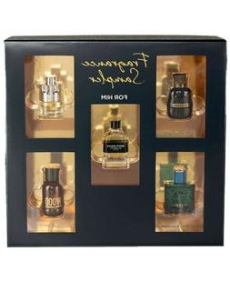 Macys Fragrance Gift Set 5 Pc Mens Cologne Versace Givenchy