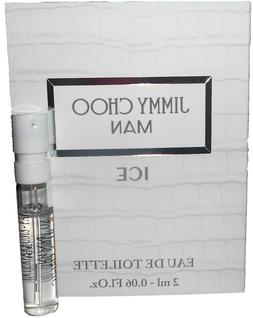 Jimmy Choo Man Ice Eau De Toilette 2 ml / .06 oz Mens Cologn