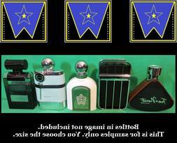 Armaf Men Cologne Decant Sample Lot Tres Nuit Ventana Blanch