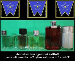 Alfred Dunhill Men edt Cologne Decant Sample Lot Icon Desire